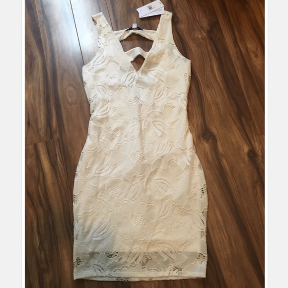 Guess Dresses & Skirts - White dress by Guess